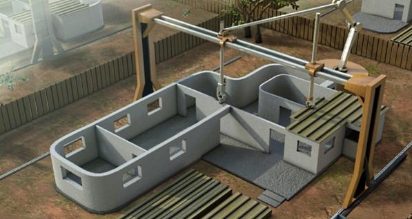 Haus aus dem 3D-Drucker – innert 24 Stunden komplett