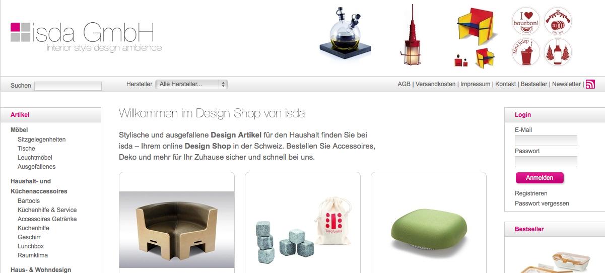 isda.ch – Auf der Suche nach stylischen Accessoires