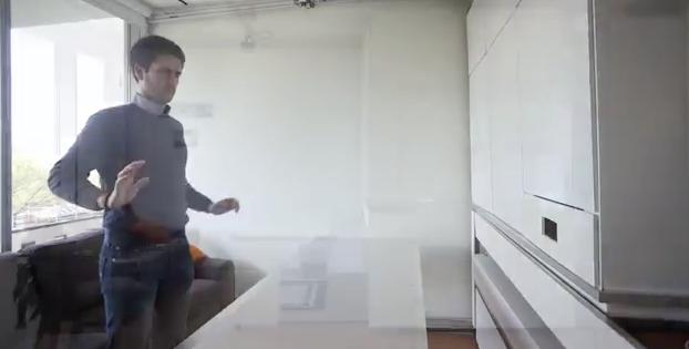 Video «MIT Media Lab CityHome» Platzsparen und automatisieren