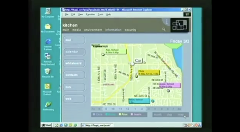 Video «Microsoft Smart Home» aus dem Jahre 1999