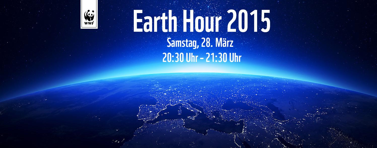 «Earth Hour 2015» Licht aus für den Klimaschutz – Montag 20:30 Uhr geht es los