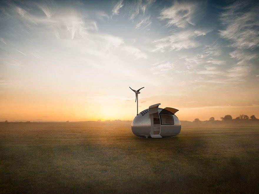 Ecocapsule - Die Einzimmer-Wohnung der Zukunft?