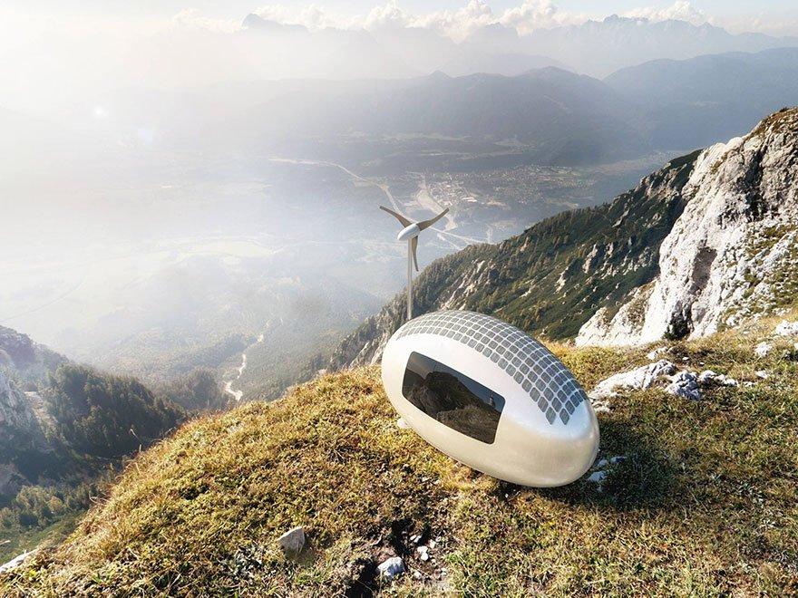 Ecocapsule – Die Einzimmer-Wohnung der Zukunft?