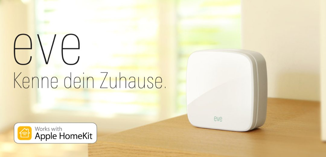 Elgato Eve – ester Sensoren fürs Apple HomeKit