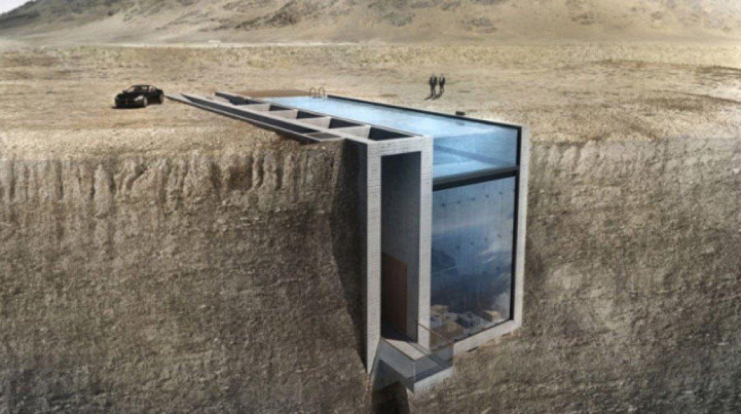 Haus am Meer – direkt an einer Klippe?