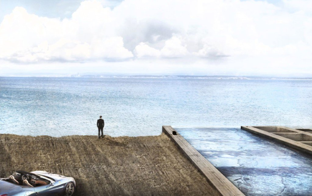 Haus am Meer - direkt an einer Klippe?