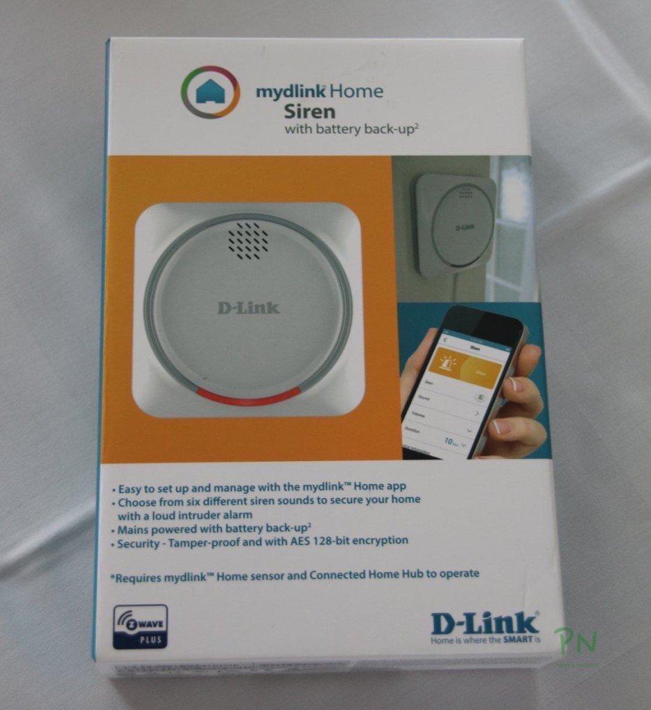 D-Link Alarm DCH-Z510