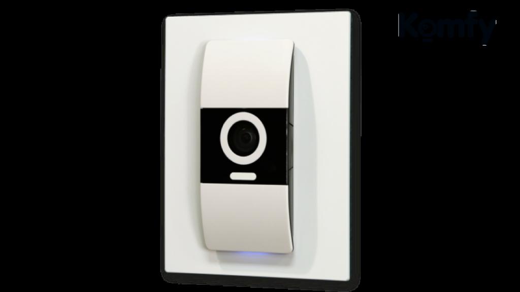 D-Link Komfy - intelligenter Lichtschalter mit einer Kamera und Sensoren