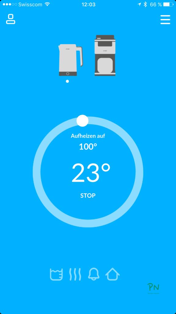 Die iKettle App