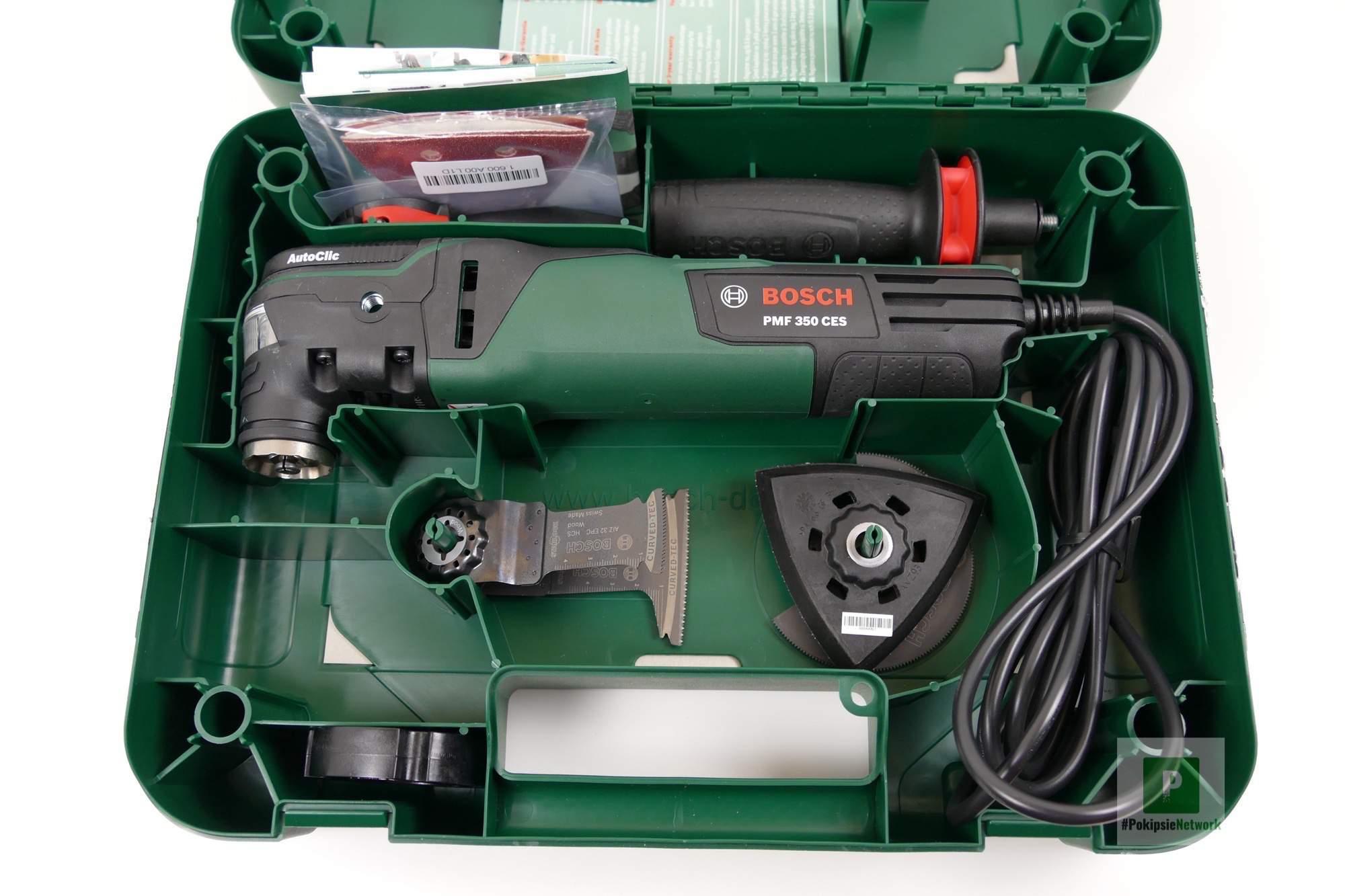 Bosch PMF 350 CES Testbericht