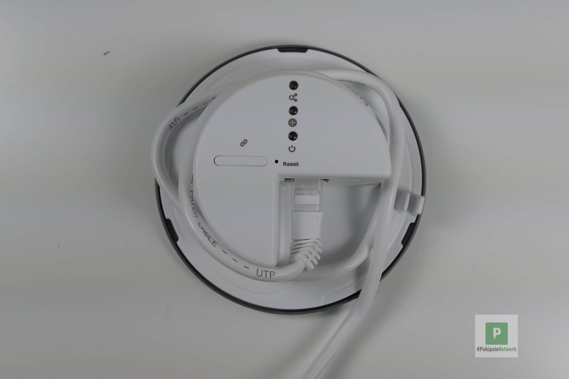 Kabelverlauf für das Management
