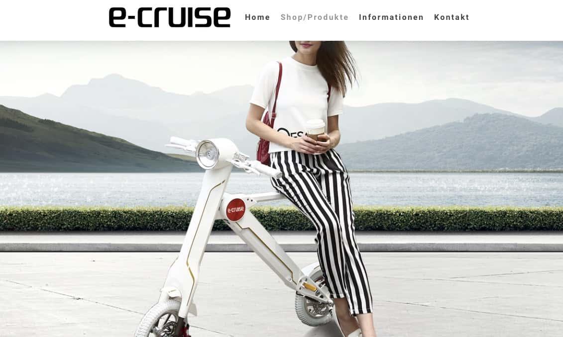 E-Cruise Smart Scooter