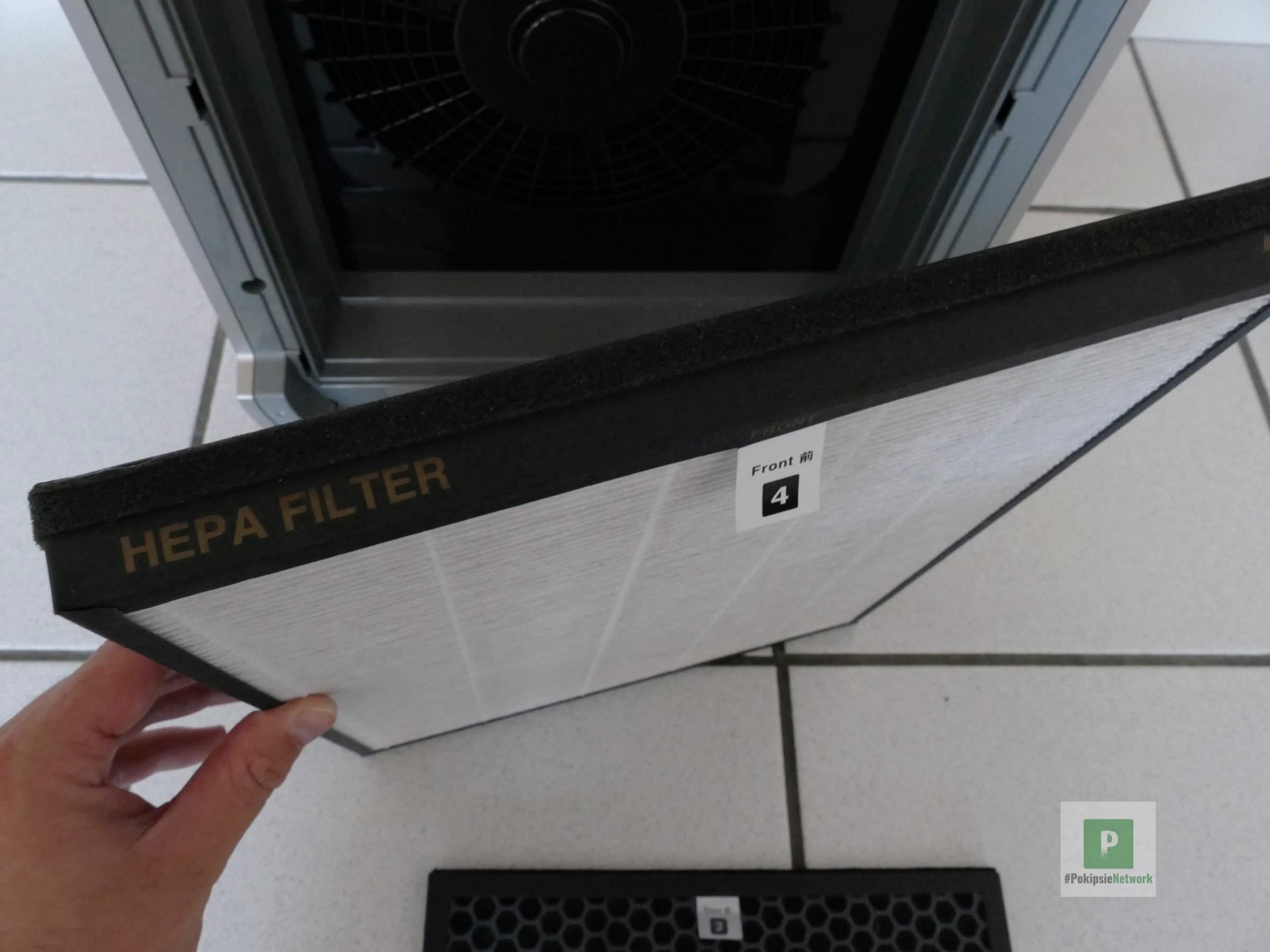 Der HEPA Filter