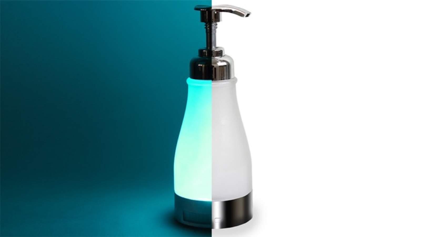 illumiSoap – Nachtlicht und Seifenspender im Badezimmer