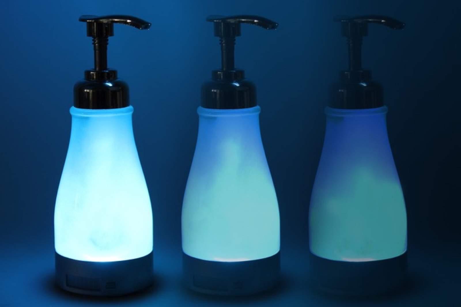 illumiSoap - Nachtlicht und Seifenspender im Badezimmer