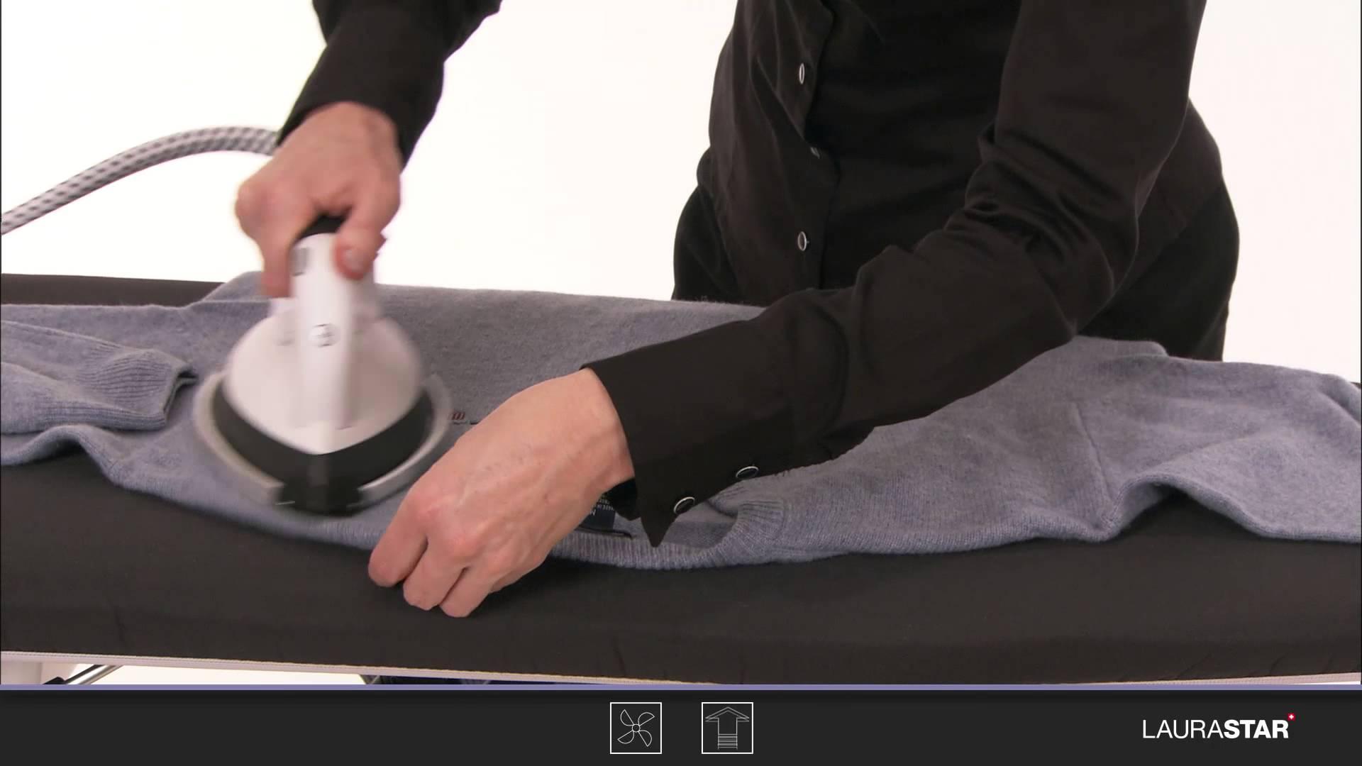 Laurastar – So bügeln Sie Ihren Wollpulli richtig