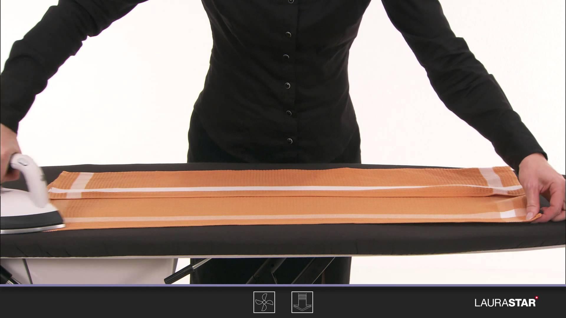 Laurastar – So bügeln Sie Ihre Tischwäsche richtig