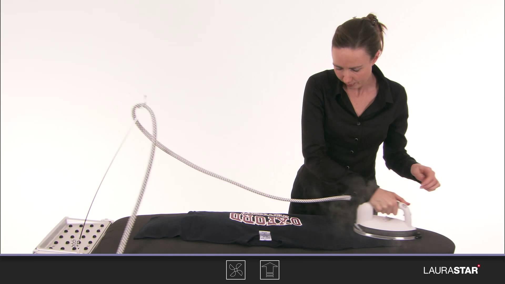 Laurastar – So bügeln Sie ein T-Shirt mit Motiv richtig
