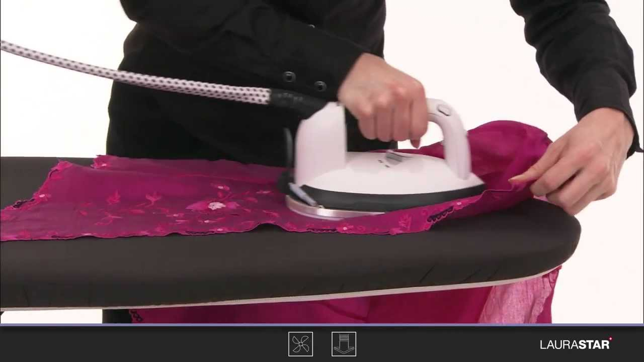 Laurastar – So bügeln Sie bestickte Stoffe richtig