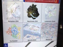Digitale Abfahrtsplakate am Bahnhof Zürich