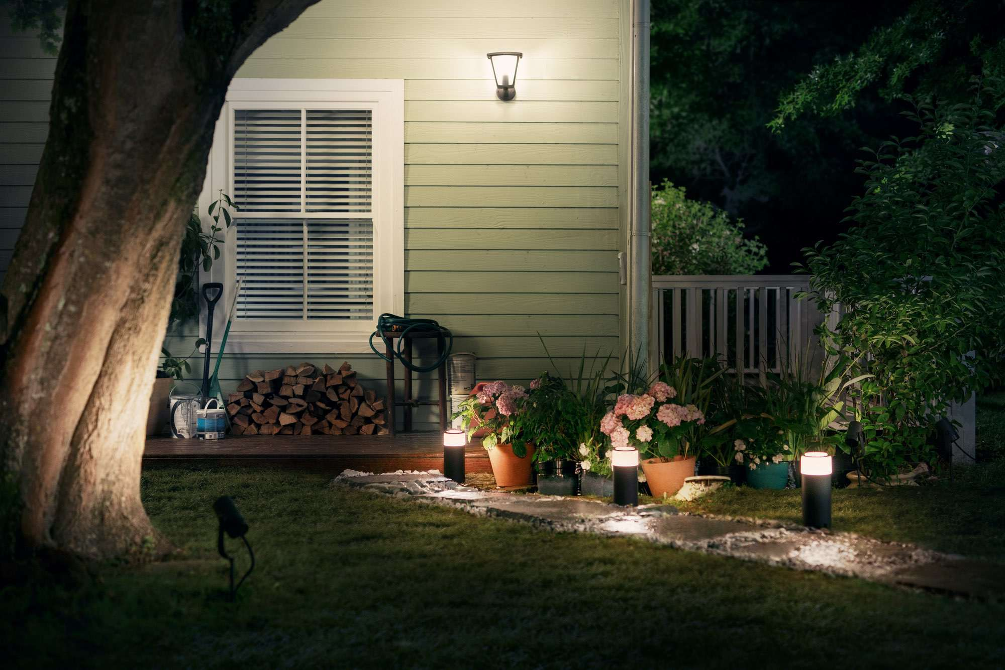Outdoor Lampen von Philips Hue