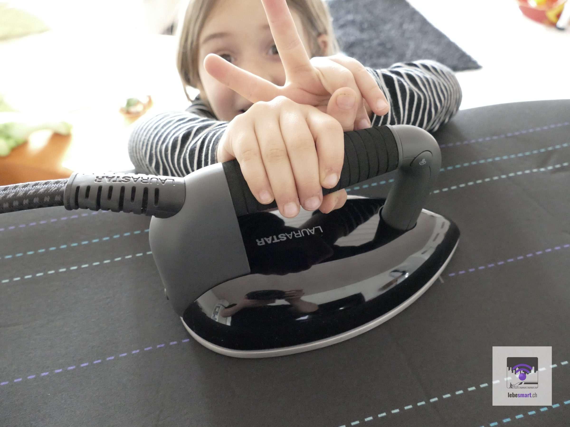 Laurastar Smart U – lerne Bügeln wie ein Meister