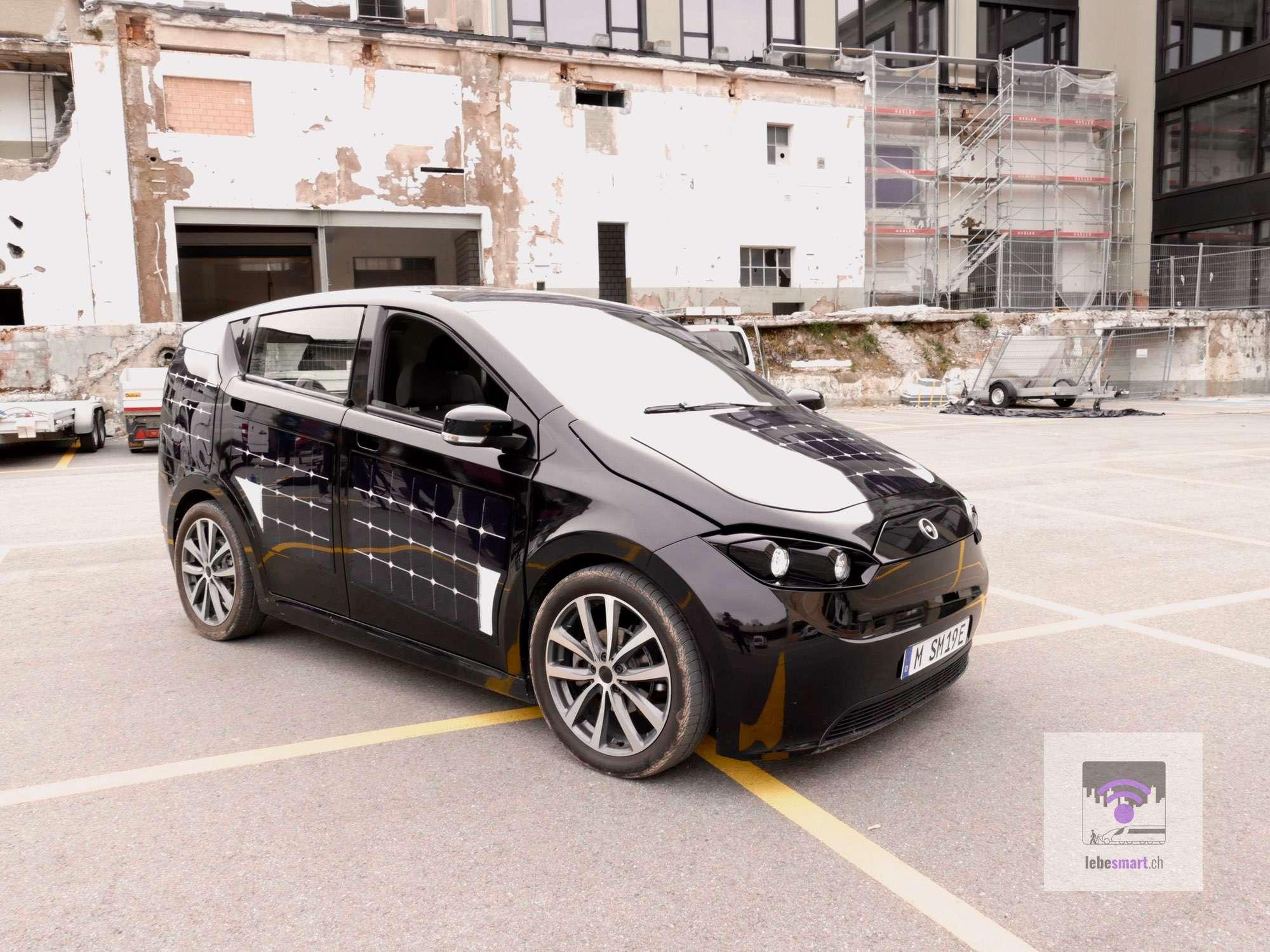Testfahrt Mit Dem Sion Elektroauto Mit Solarstrom Lebesmart