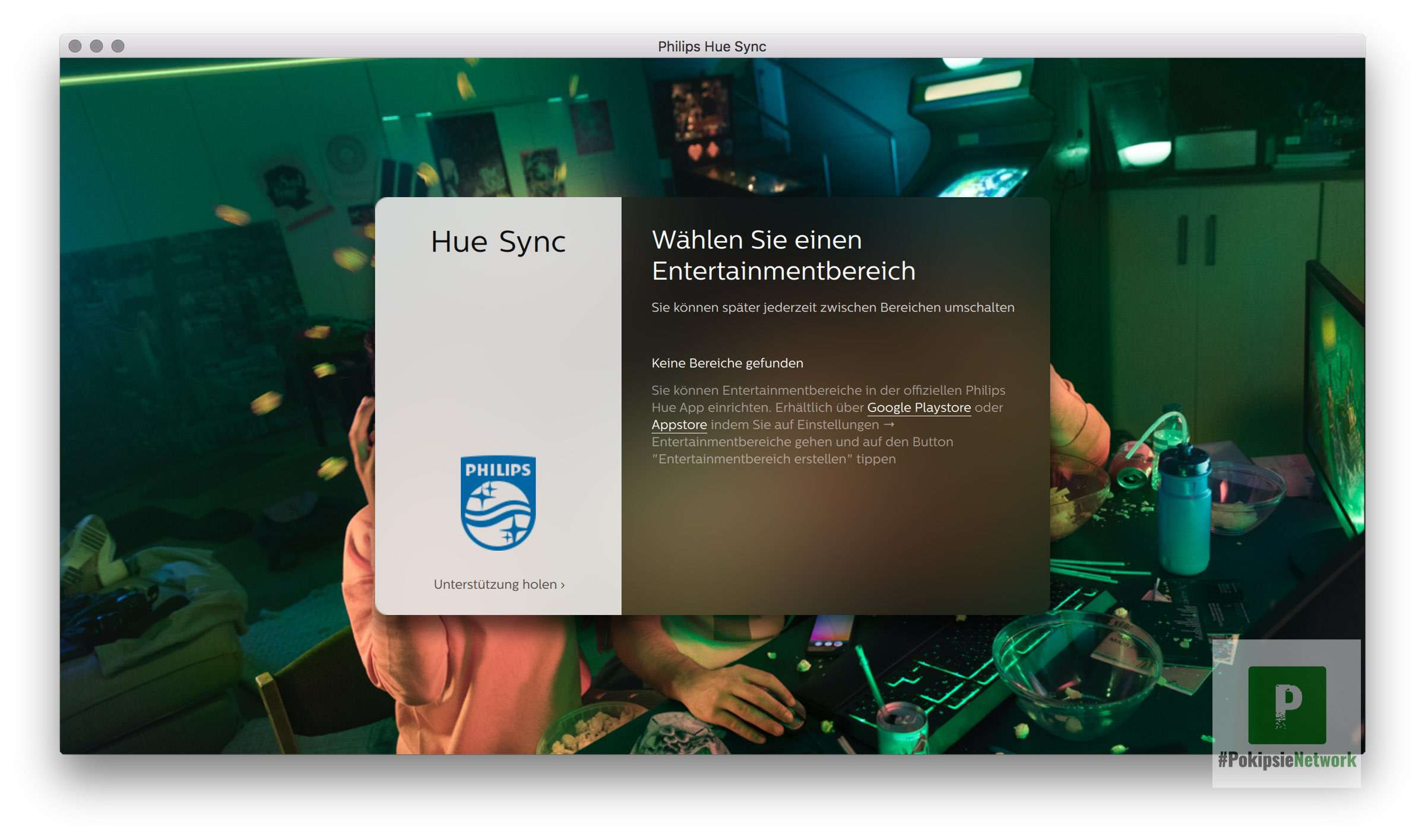 Philips HUE Sync für macOS und Windows