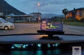 Hudway Glass – das einfach Navi fürs Auto