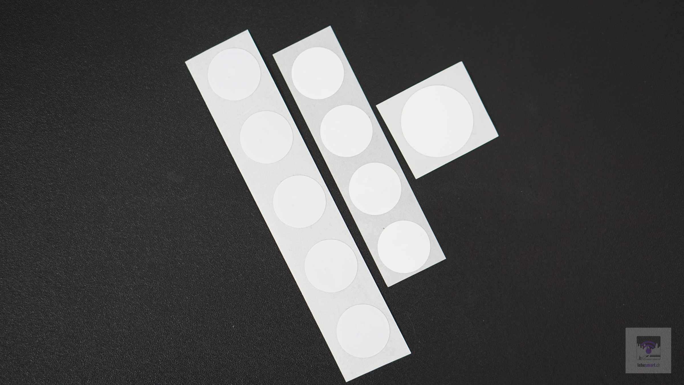NFC NTAG 213, 215 oder 216? Die richtige Grösse für euren NFC Chip