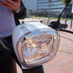 Das Licht vom eCooltra