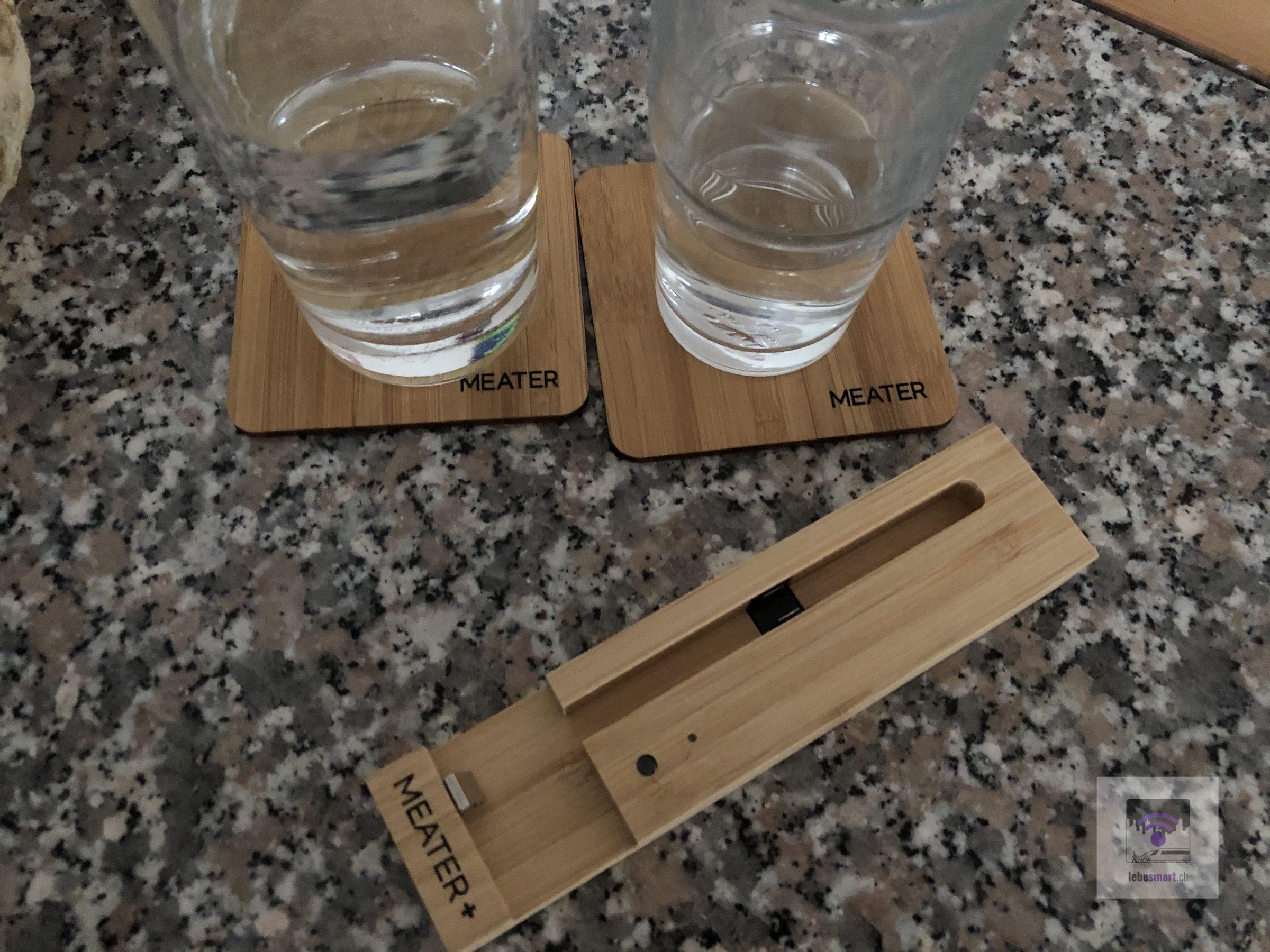 Tolle und passende Unterleger für die Gläser