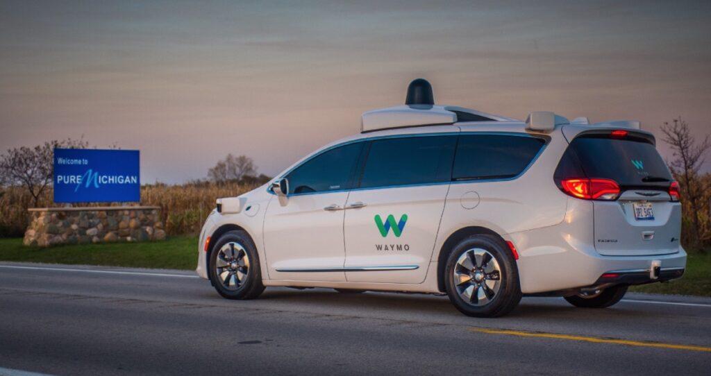 Waymo autonomes Taxi
