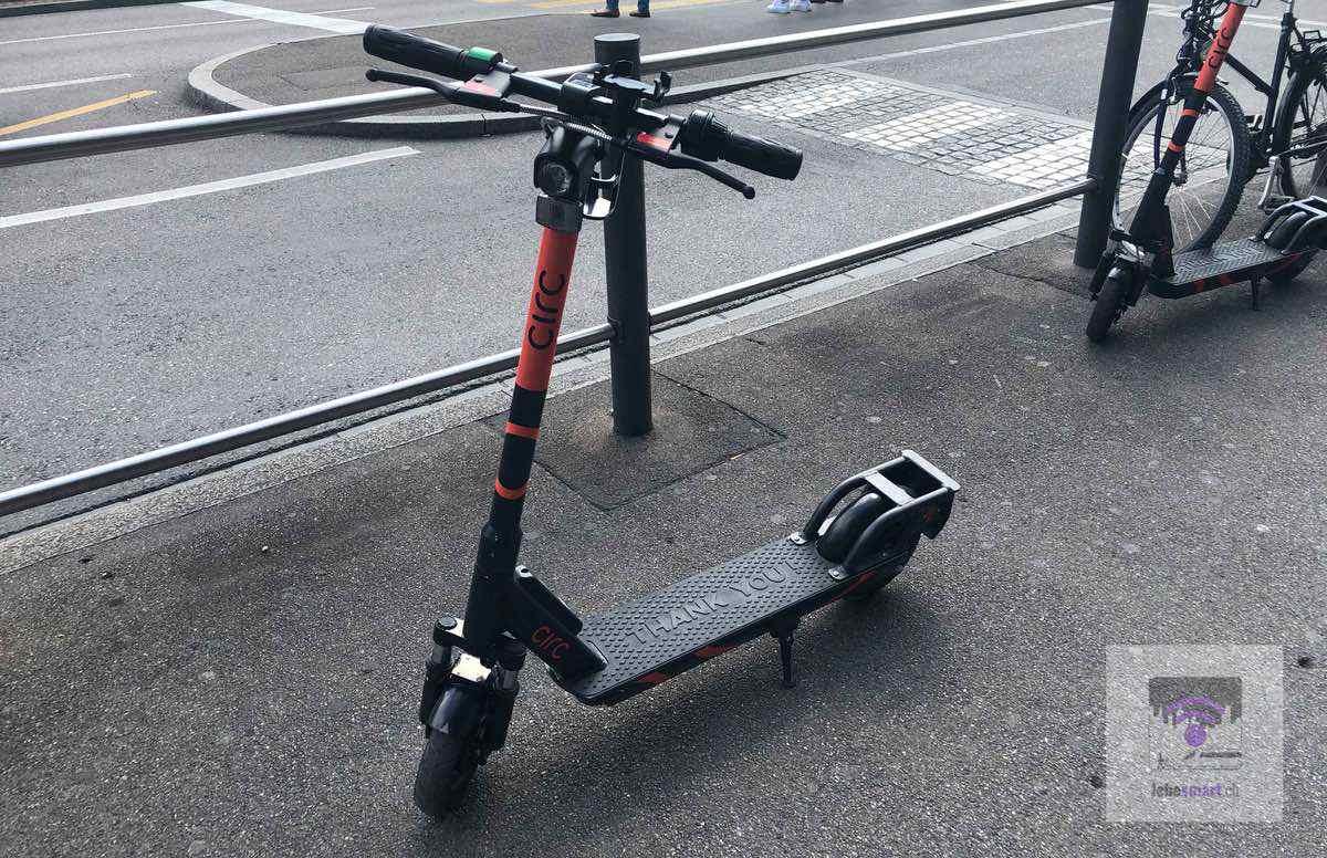 E-Scooter bei der SBB: E-Trottinette von Circ am Zürcher HB