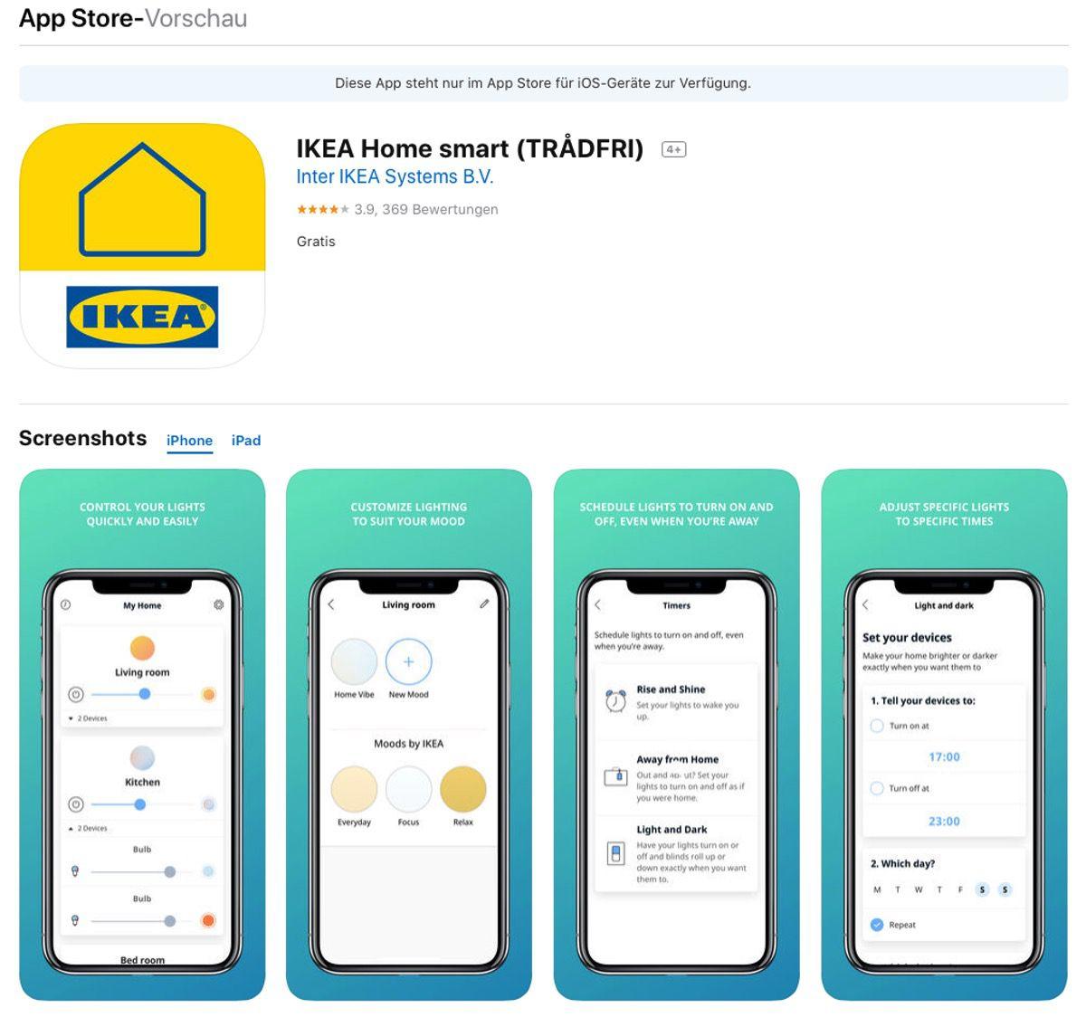 Tschüss IKEA TRÅDFRI – Smarte Produkte heissen neu «IKEA Home smart»