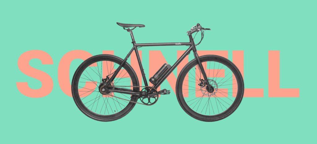 E-Bike Startup Sushi von Joko