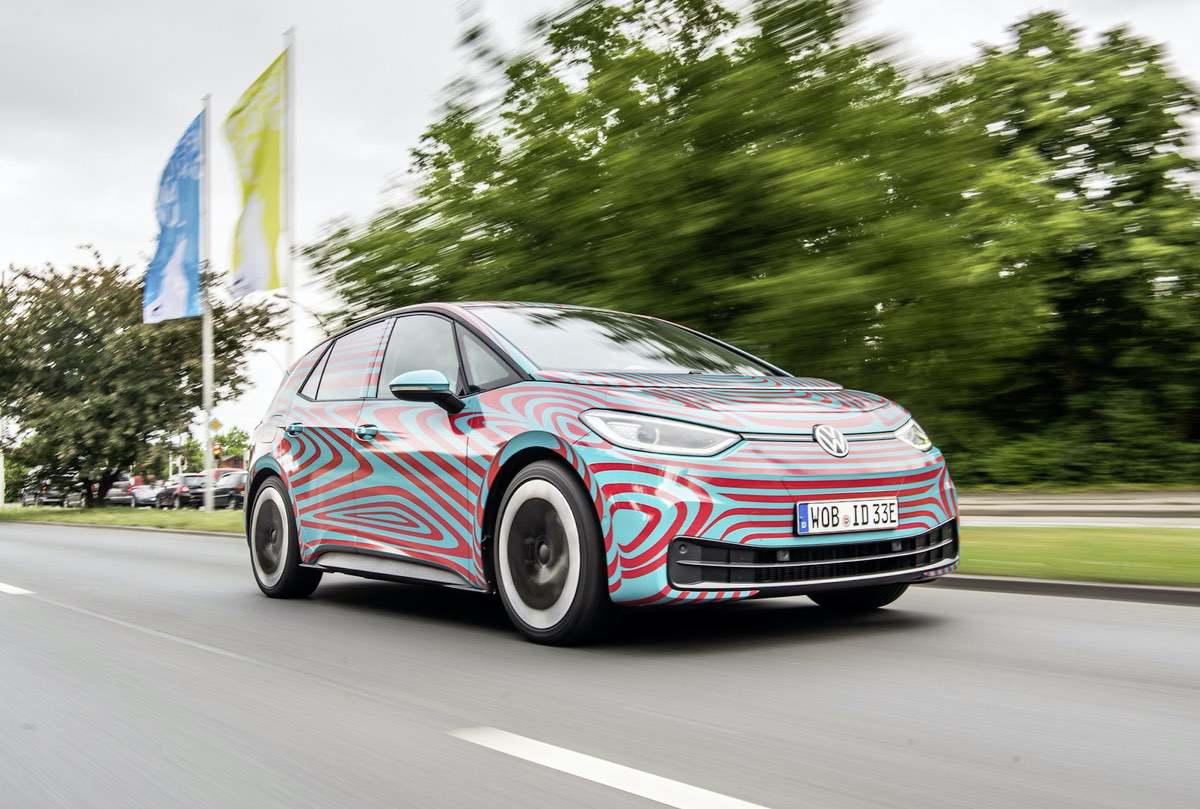 VW ID.3: Neues Elektroauto von Volkswagen auf der IAA 2019 vorgestellt
