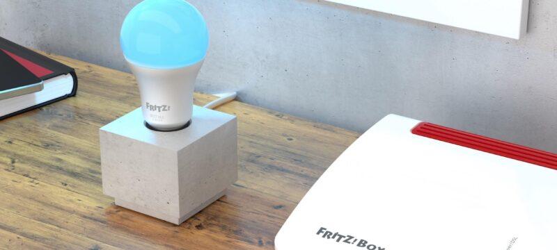 AVM FRITZ!Dect 500 LED-Lampe vorgestellt