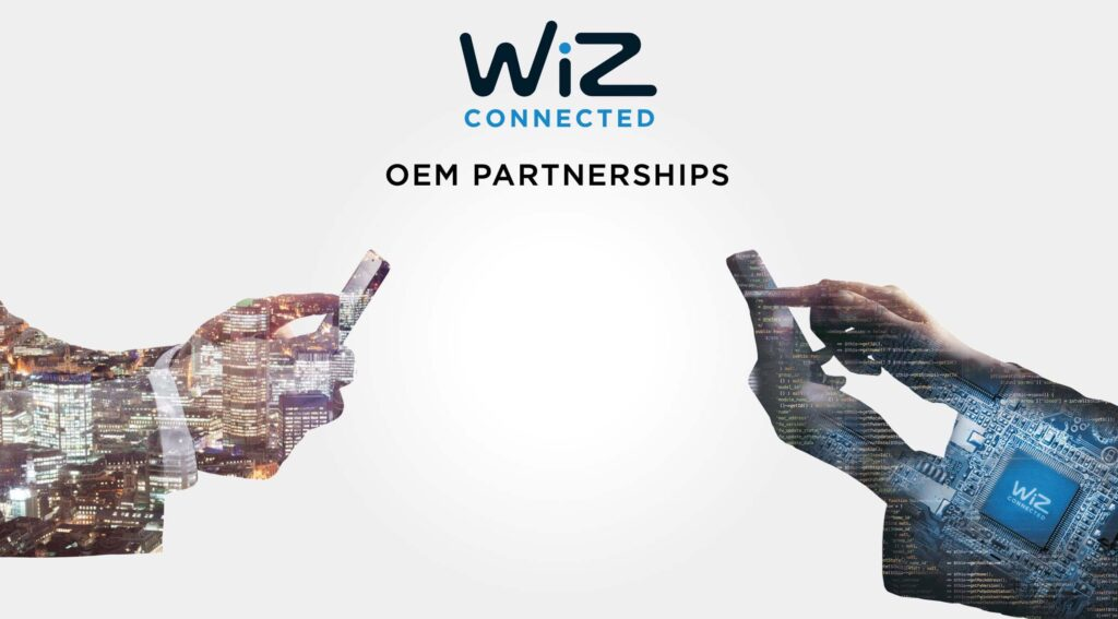WiZ Connected OEM Partnership