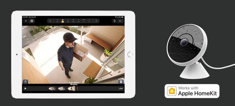 Logitech Circle 2 spielt jetzt in Apple HomeKit Secure Video