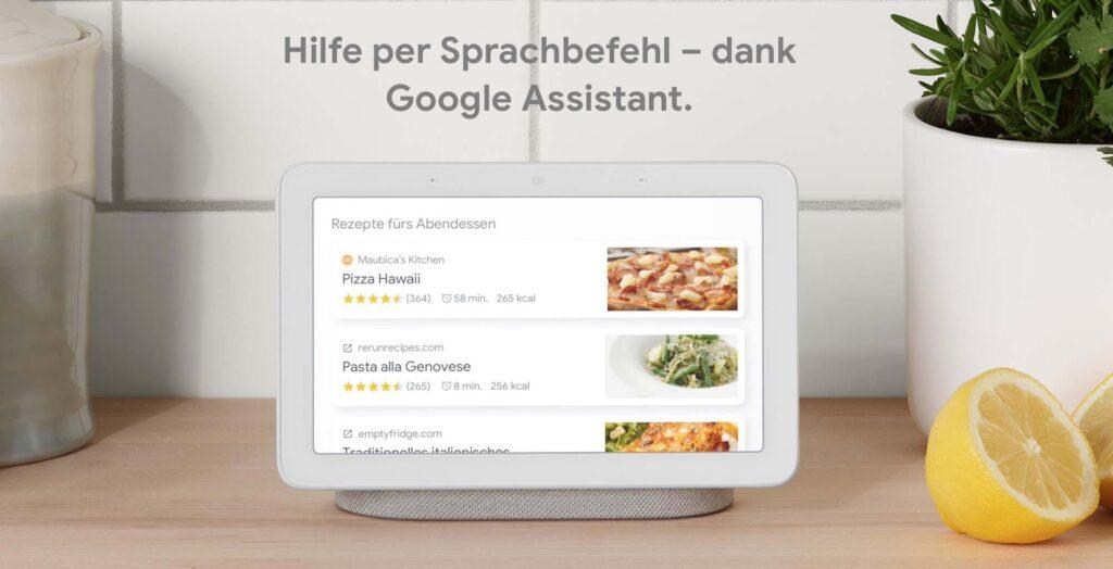 Google Nest Hub Küche