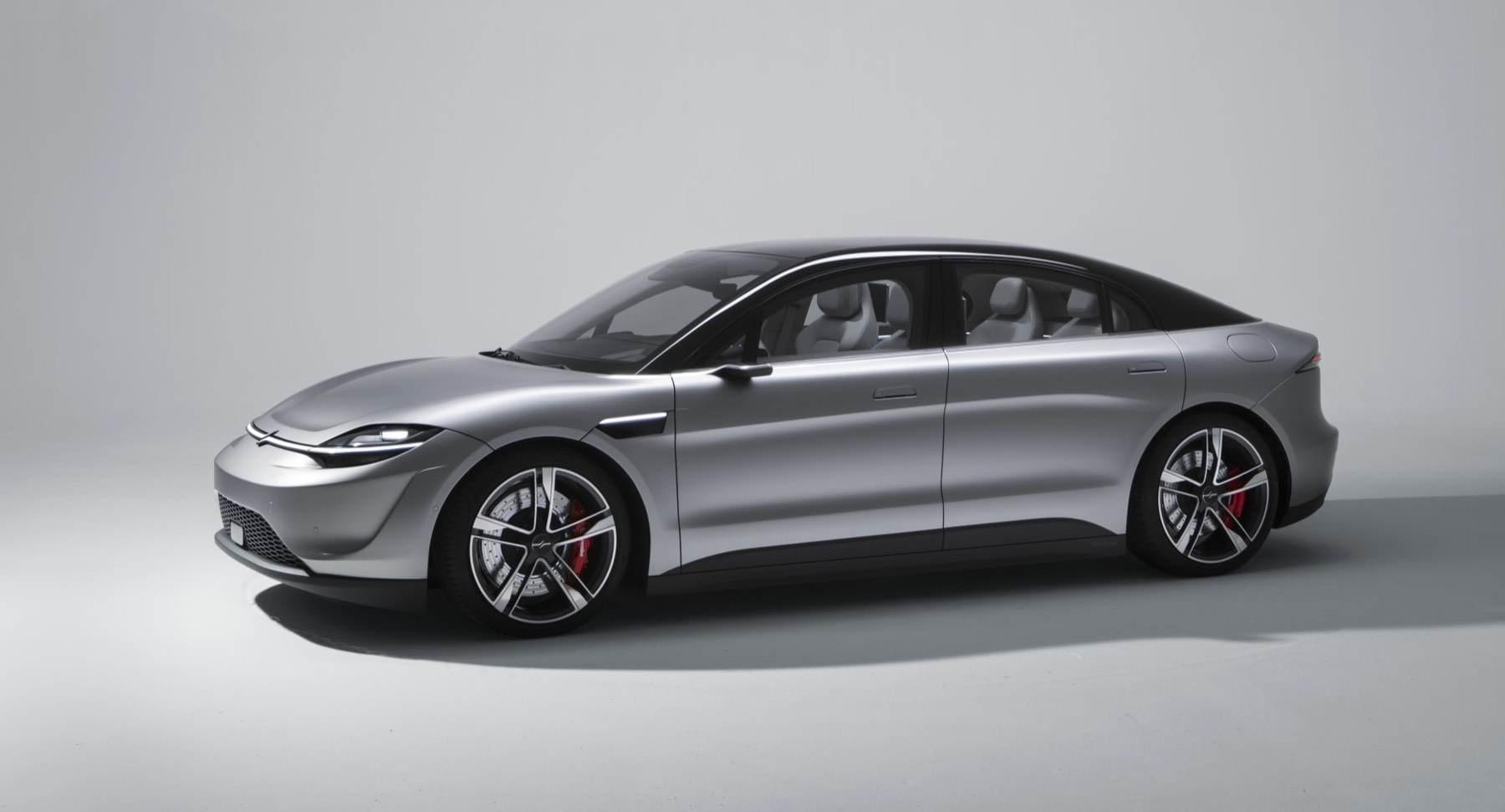 Sony Vision-S: Hersteller zeigt eigenes Elektroauto auf der #CES2020