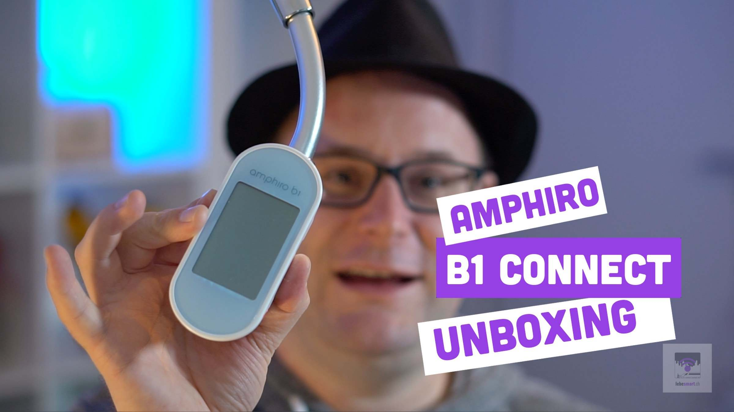 VIDEO – Amphiro b1 connect – Unboxing und Montage