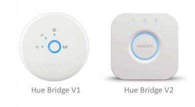 Die beiden Bridge Versionen gegenüber