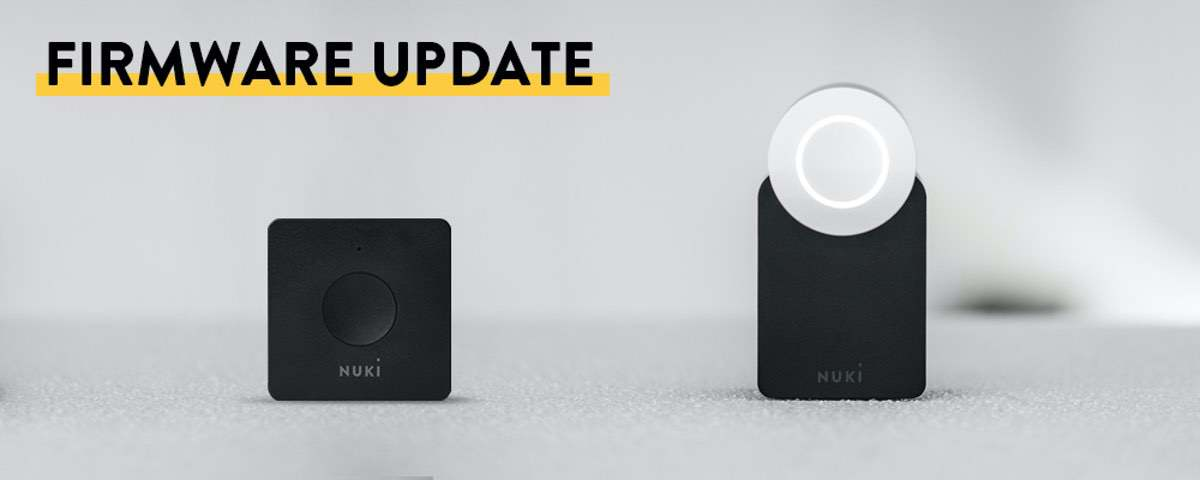 Firmware Udpate für Nuki Smart Lock