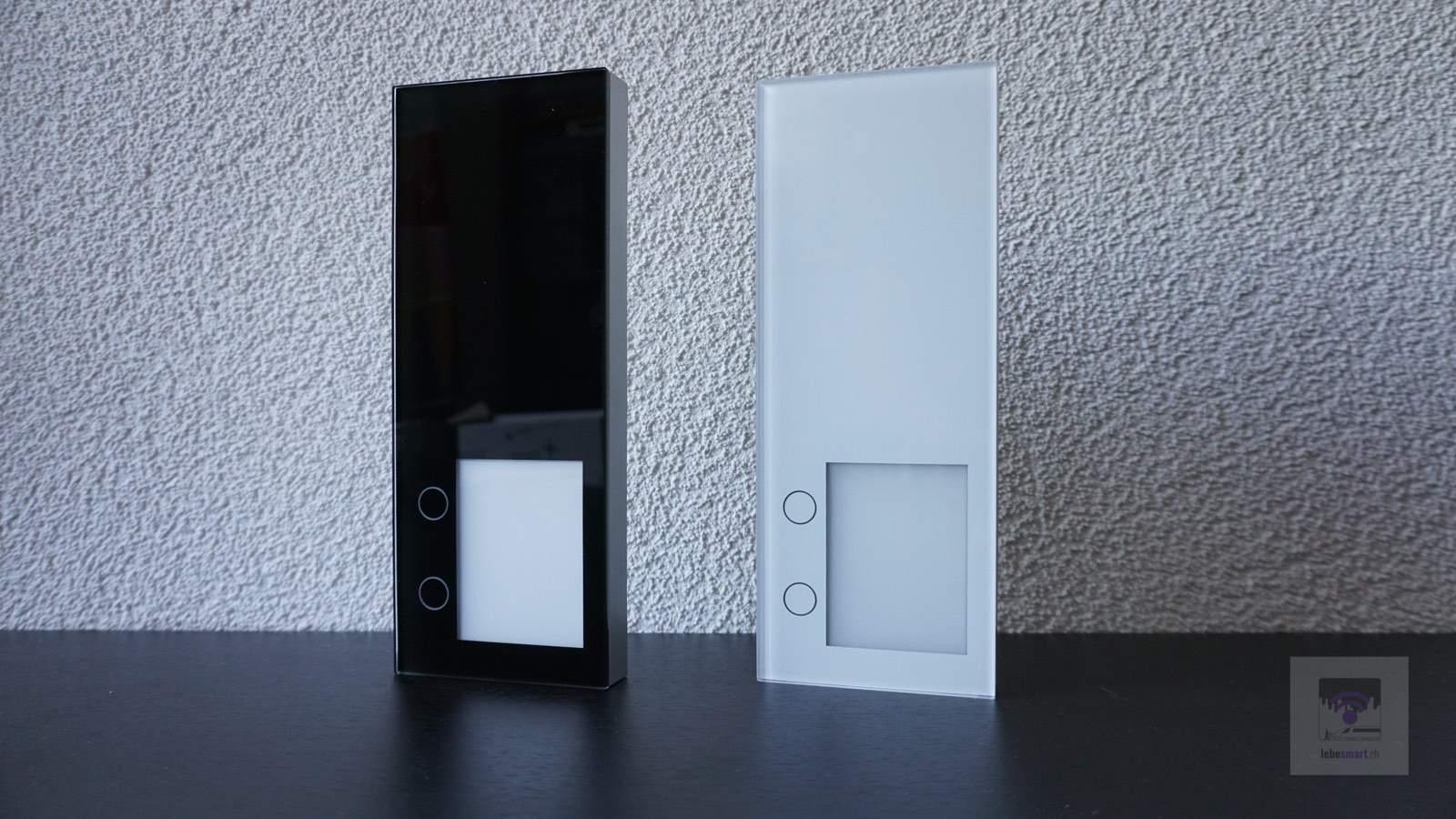 Die beiden Türsprechanlagen