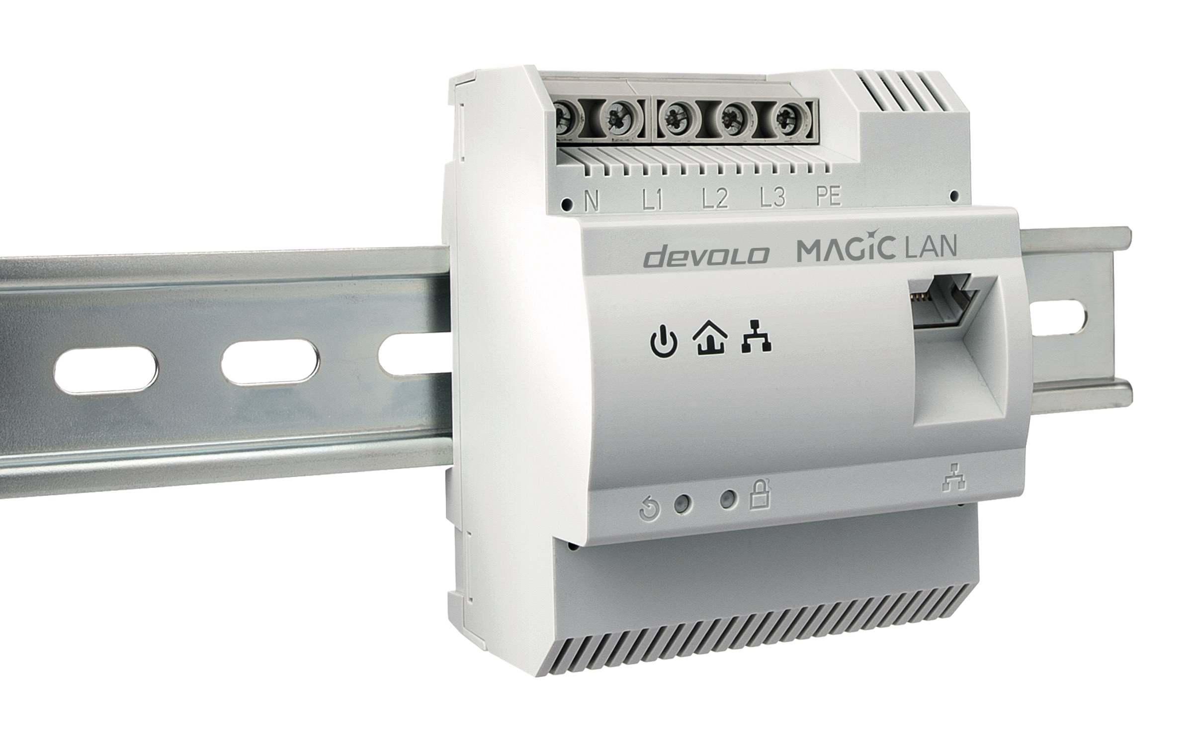 devolo Magic 2 DINrail – Powerline direkt im Sicherungskasten vorgestellt