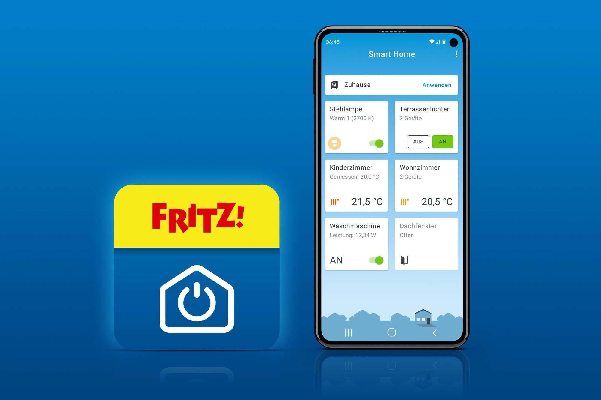 FRITZ!App Smart Home – Neue Smartphone App im Store