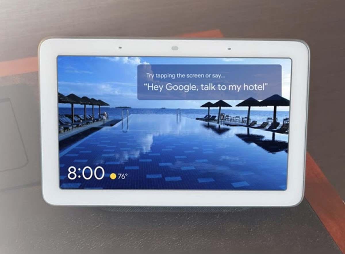 Google Assistant – Smarte Displays für jedes Hotelzimmer