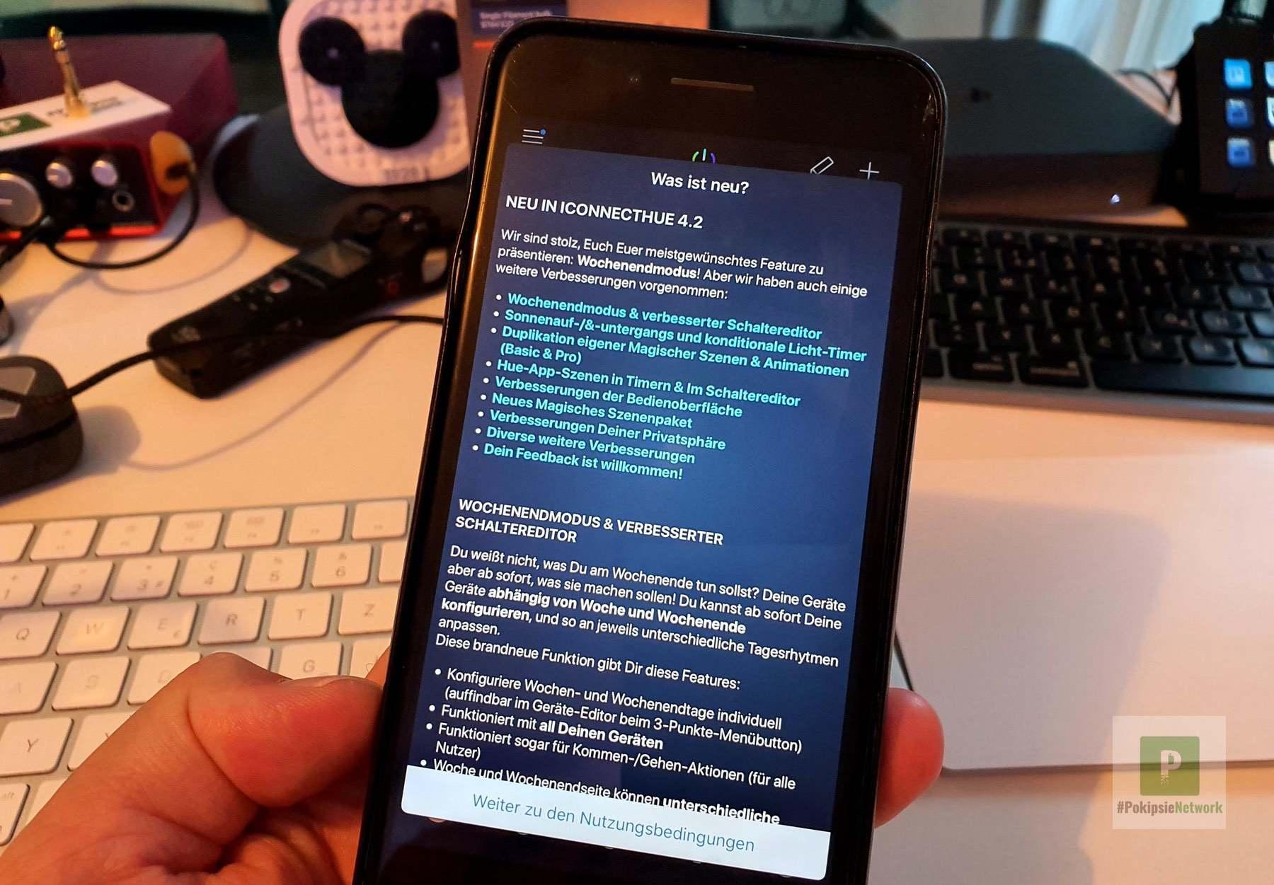 Neue Funktionen in der Philips Hue App